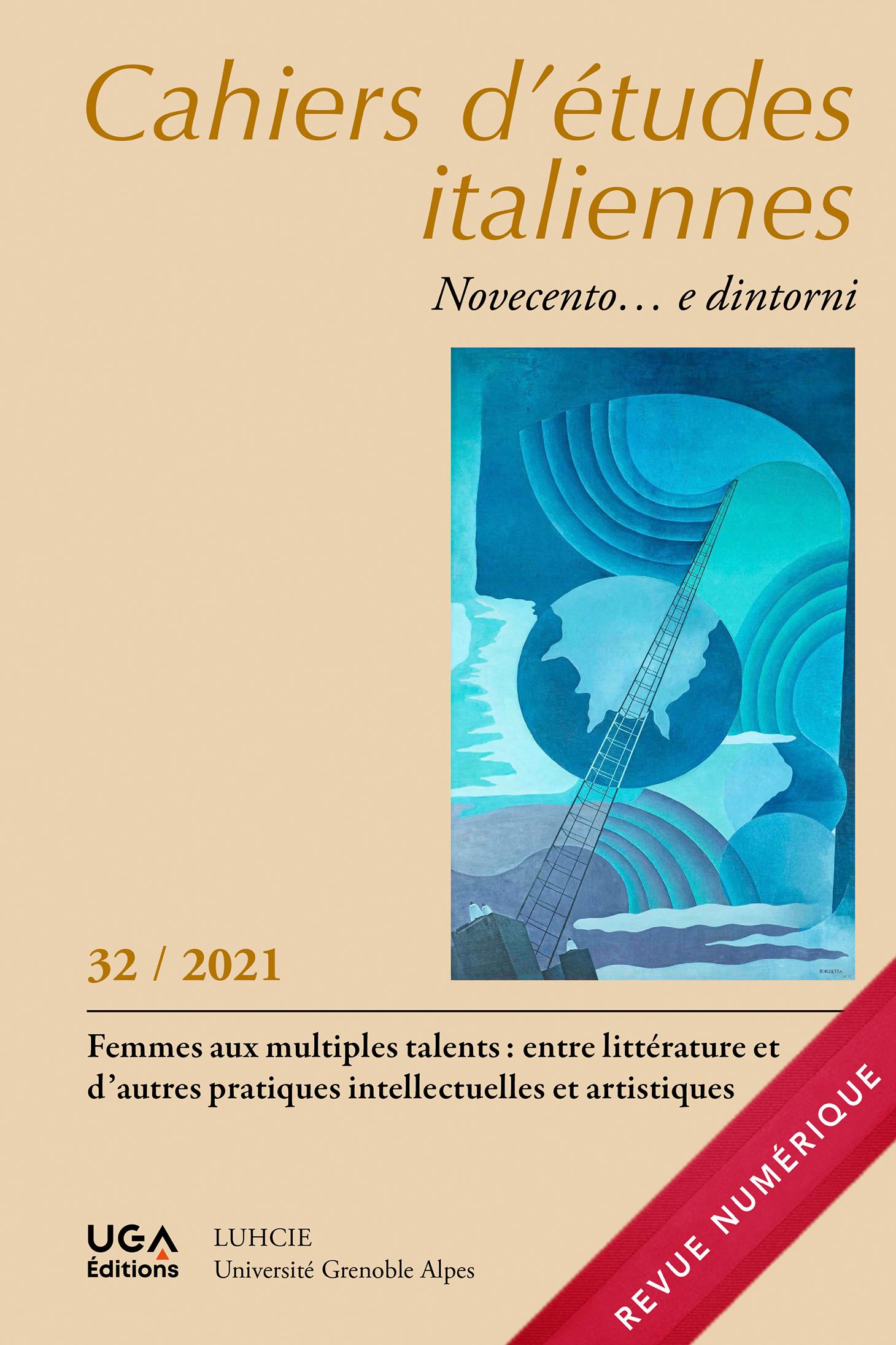 Cahiers d'études italiennes, numéro 32