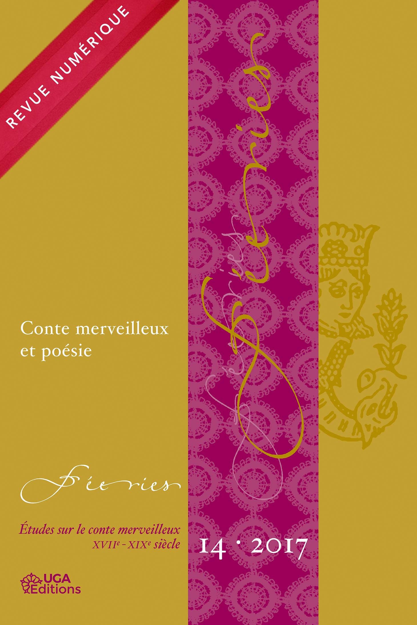 Couverture Féeries 14 : conte merveilleux et poésie