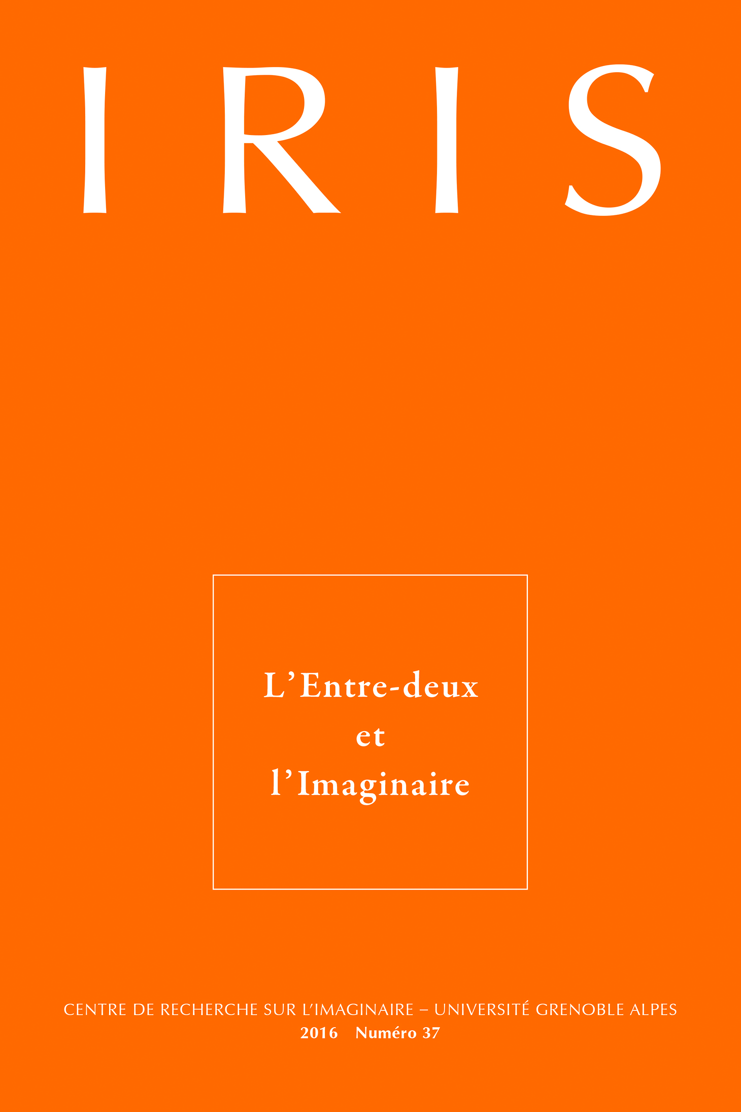 Couverture Iris 37
