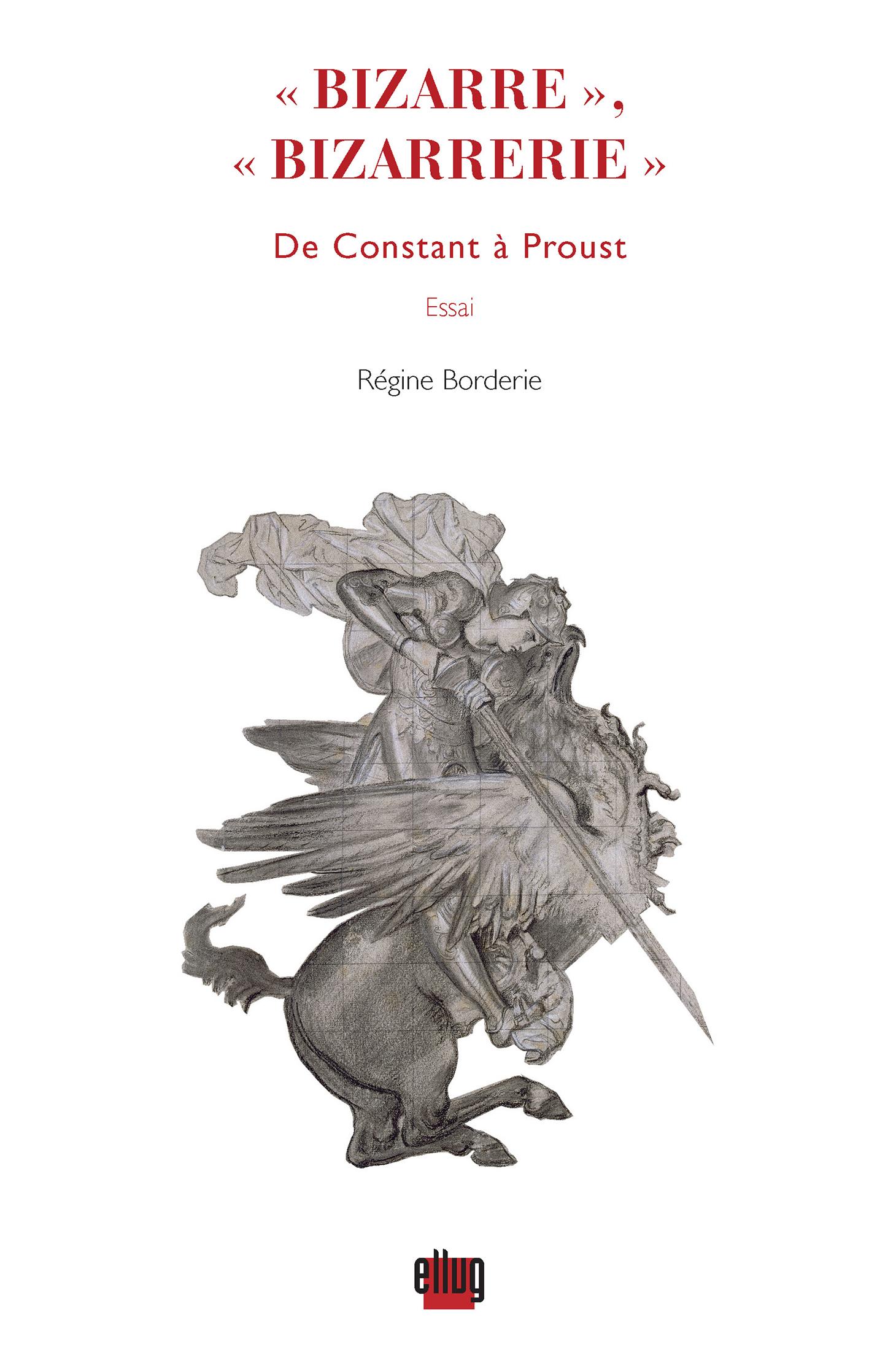 Couverture Bizarre de Constant à Proust