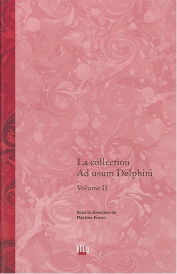 Couverture  La collection Ad usum Delphini - Volume 2