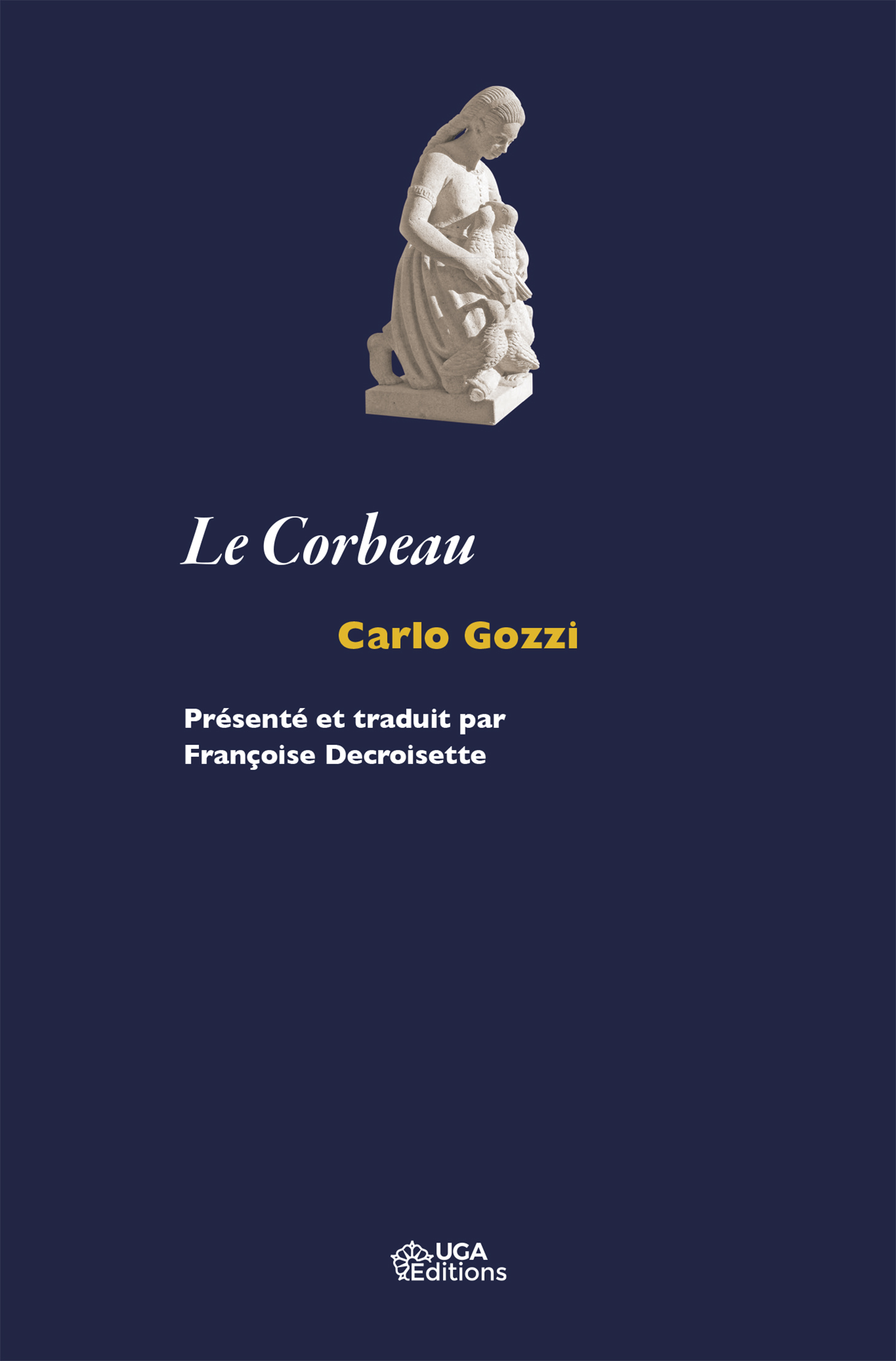 Couverture Le Corbeau-Carlo Gozzi