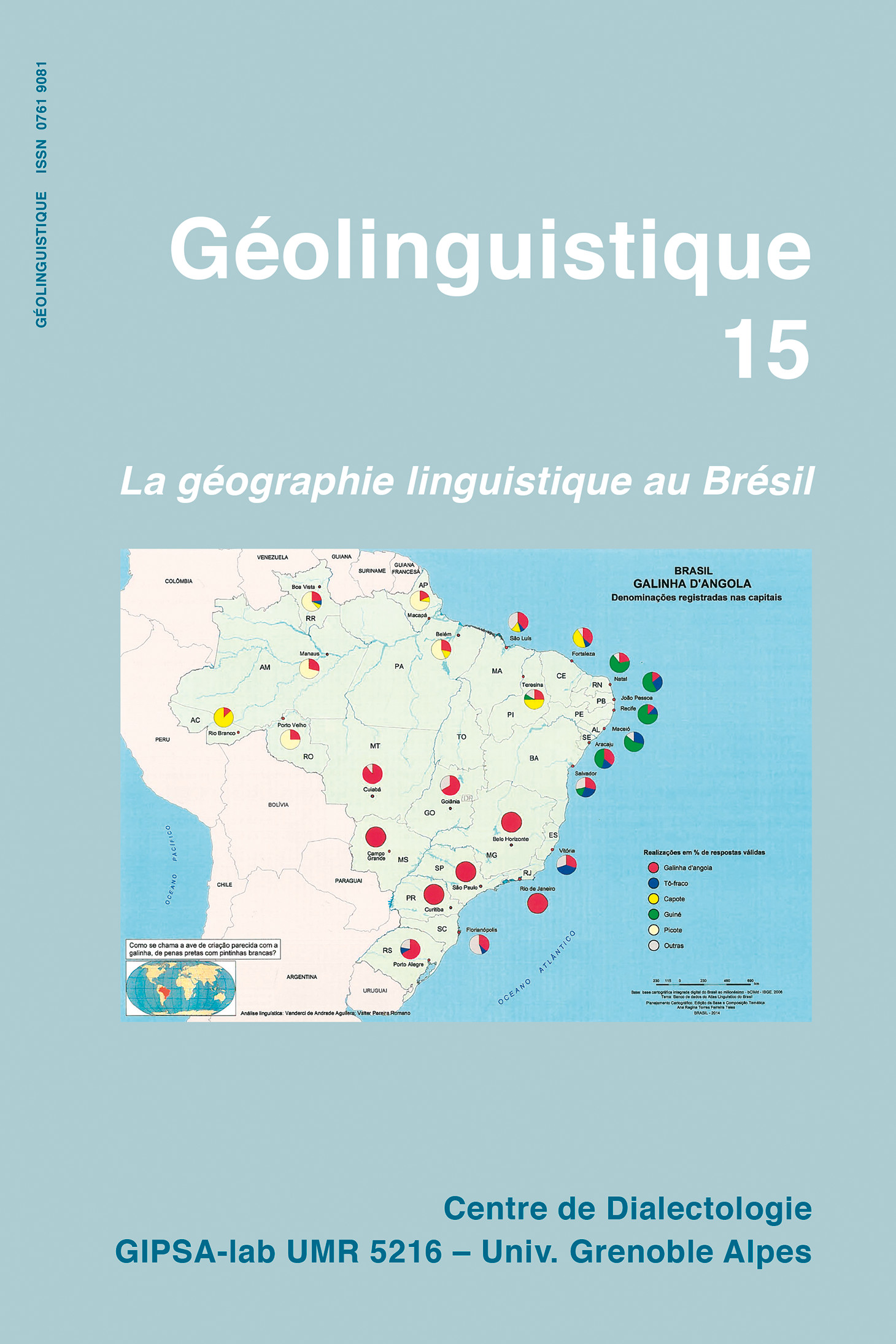 Couverture Geolinguistique 15