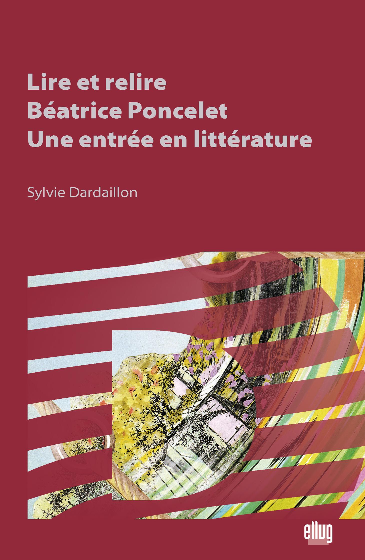 Couverture Lire et relire Béatrice Poncelet