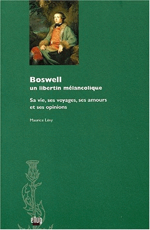 Couverture Boswell, un libertin mélancolique