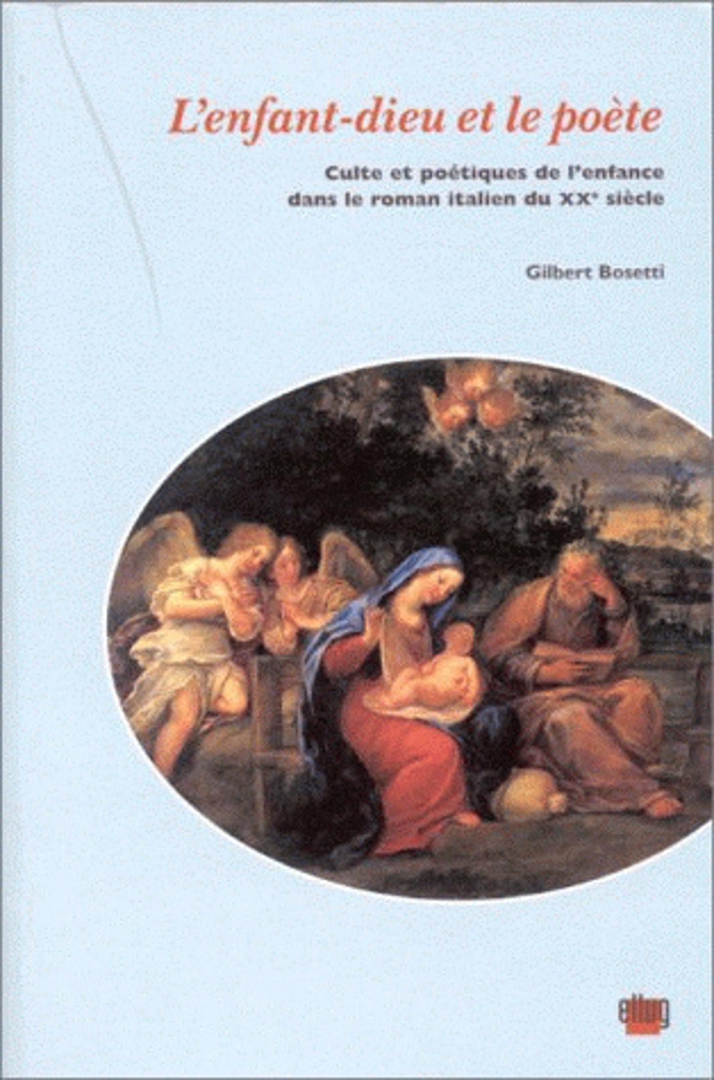 Couverture L'Enfant-dieu et le poète