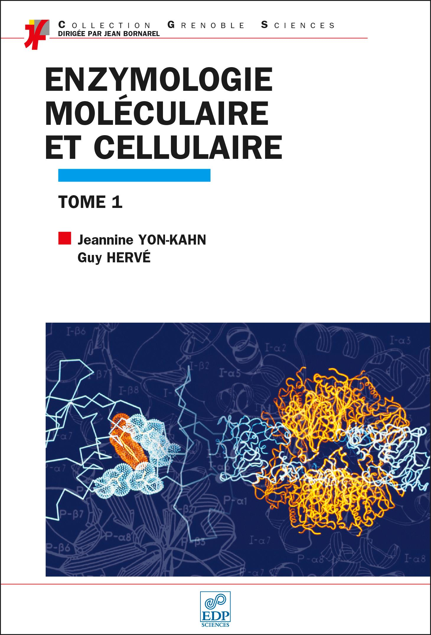 Couverture Enzymologie moléculaire T1