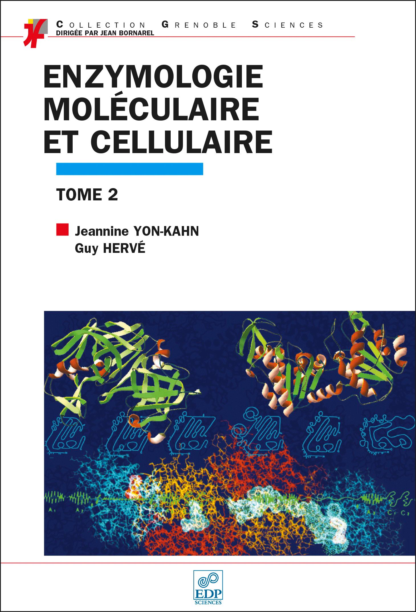 Couverture Enzymologie moléculaire T2