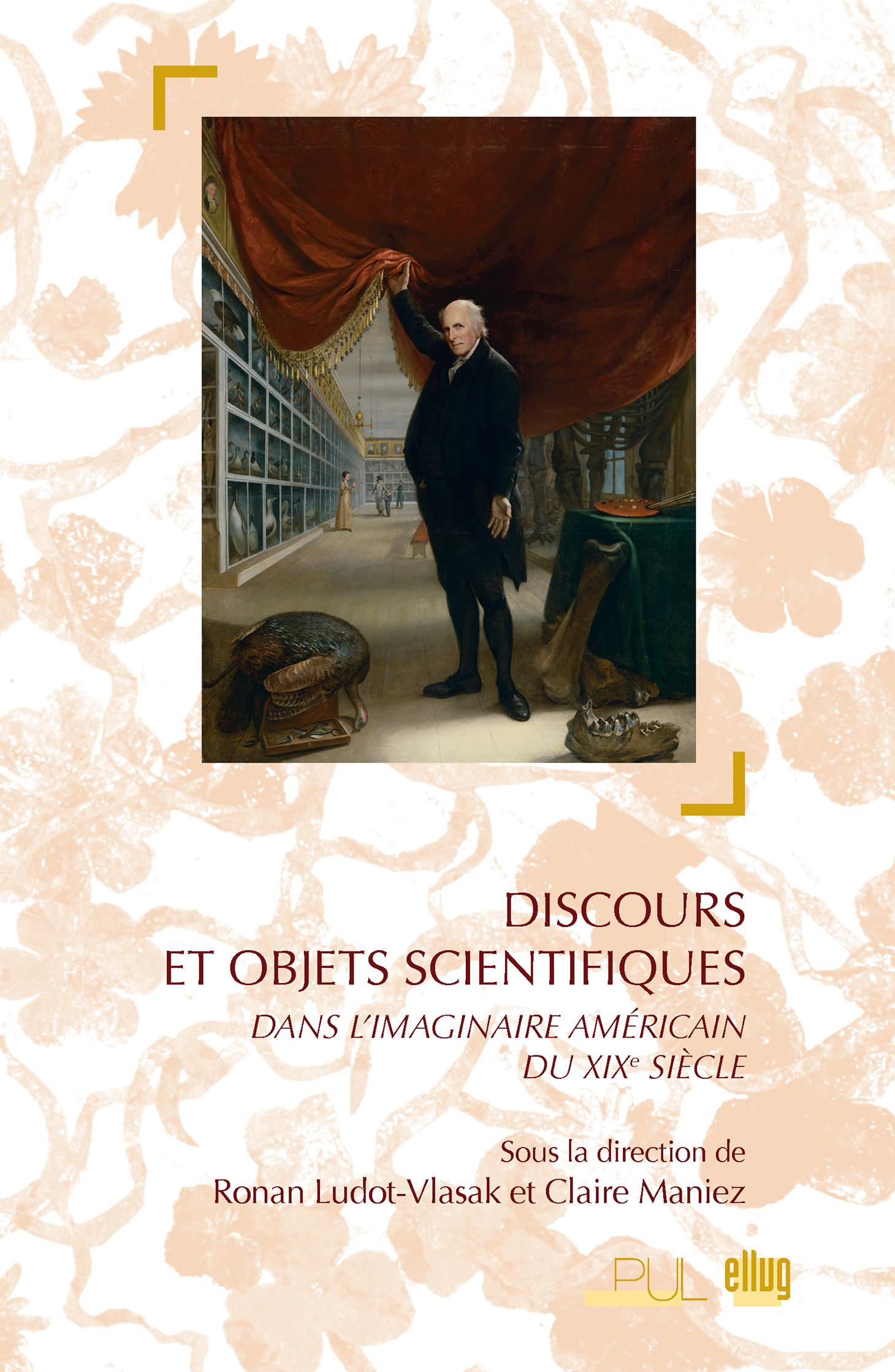 Couverture Discours et objets scientifiques