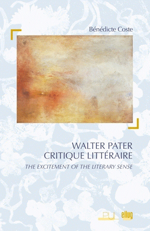Couverture Walter Pater