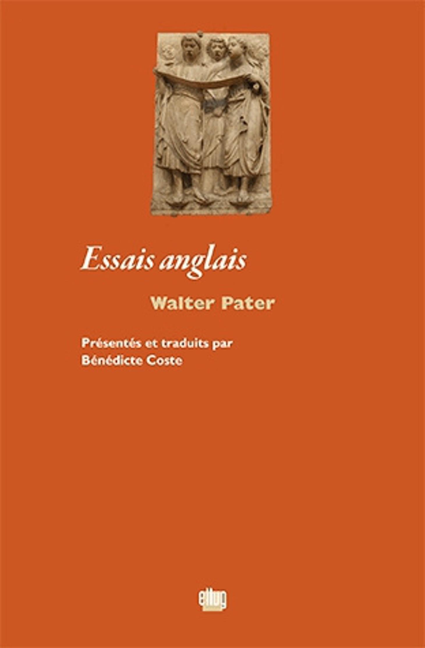 Couverture Essais anglais Walter Pater