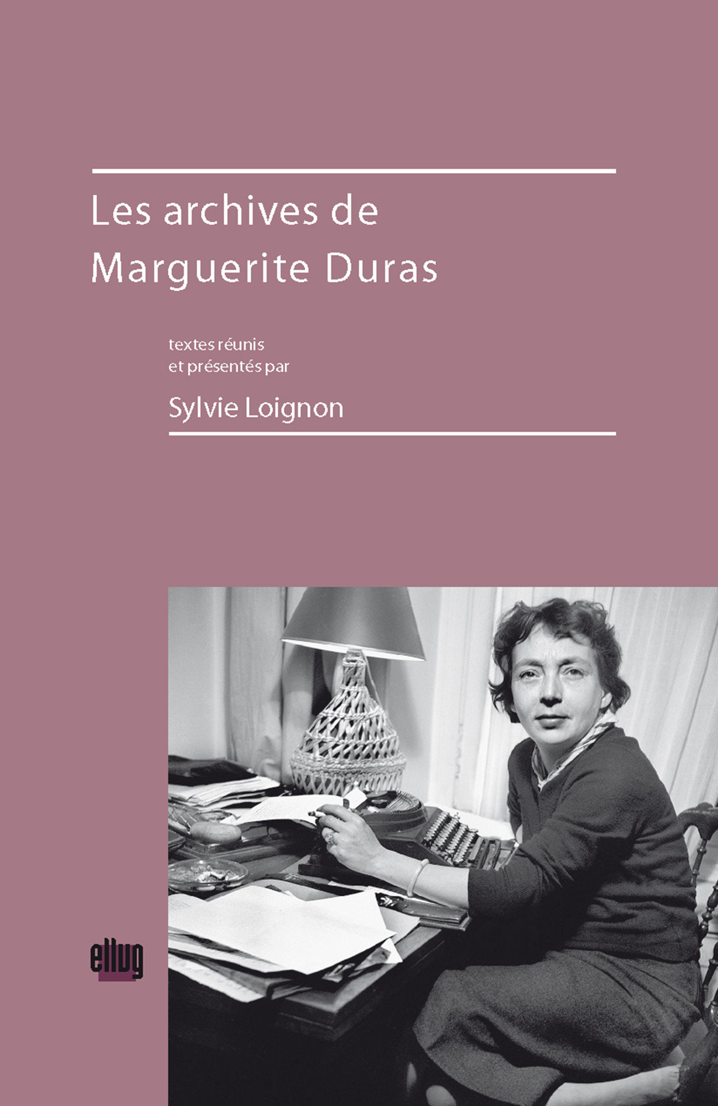 Couverture Les archives de Marguerite Duras