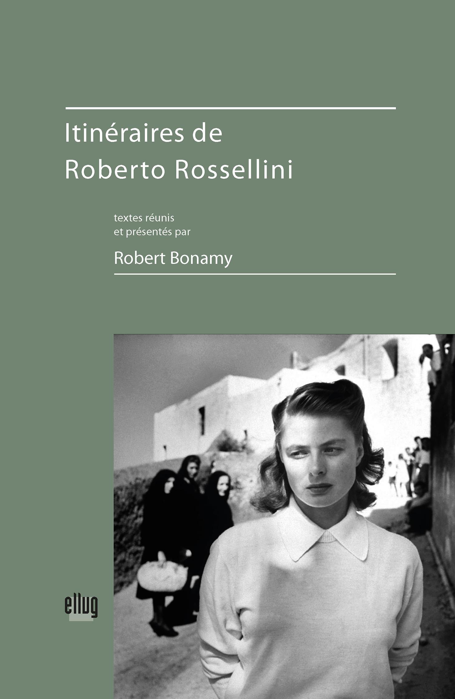 Couverture Itinéraires de Roberto Rossellini