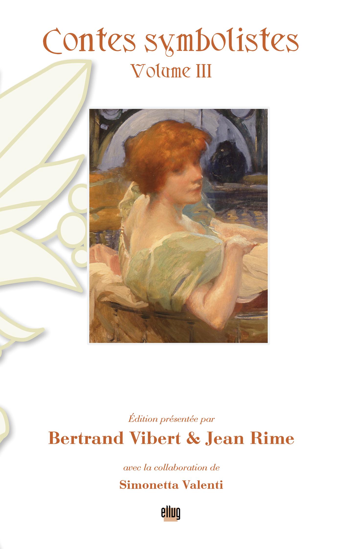 Couverture Contes symbolistes Vol3