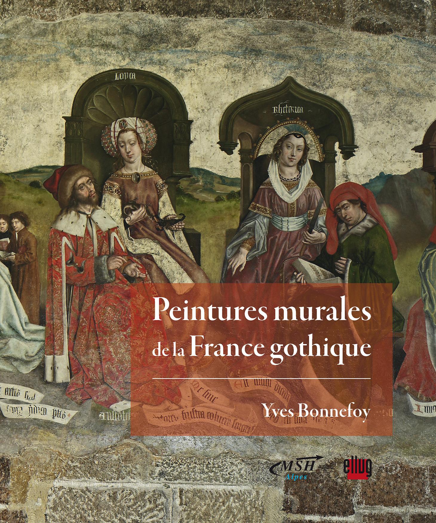 Couverture Peintures murales de la France gothique