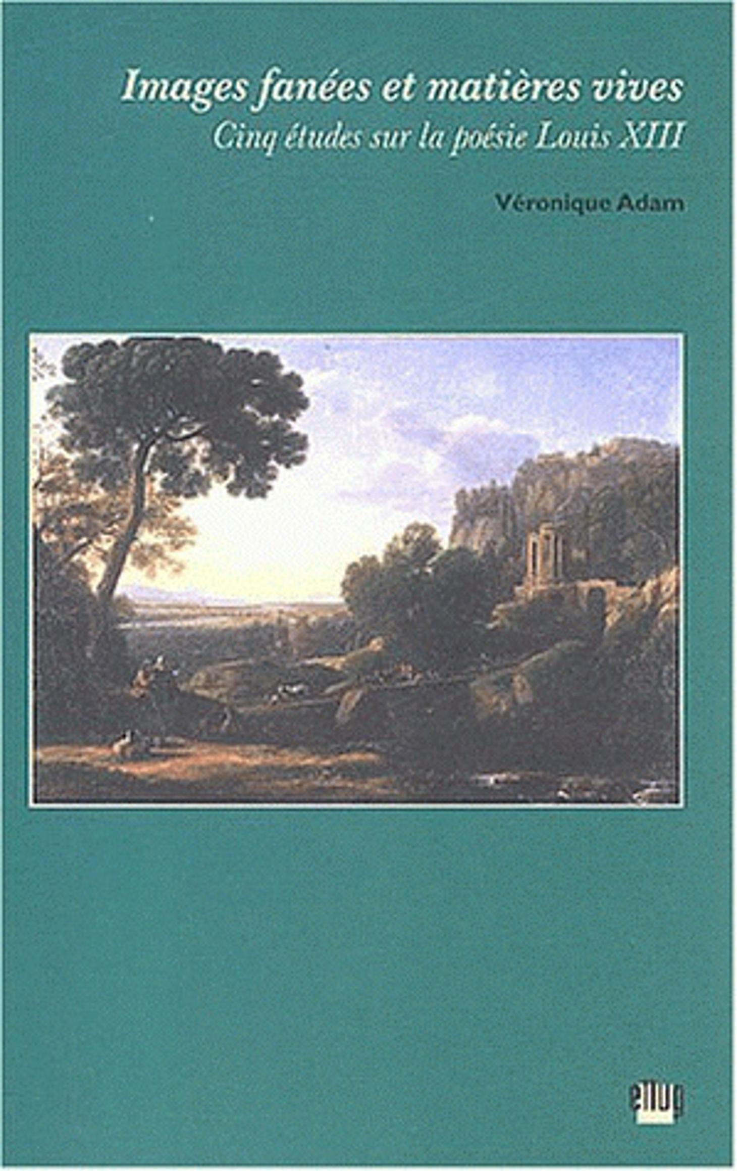 Couverture Images fanées - poésie Louis XIII