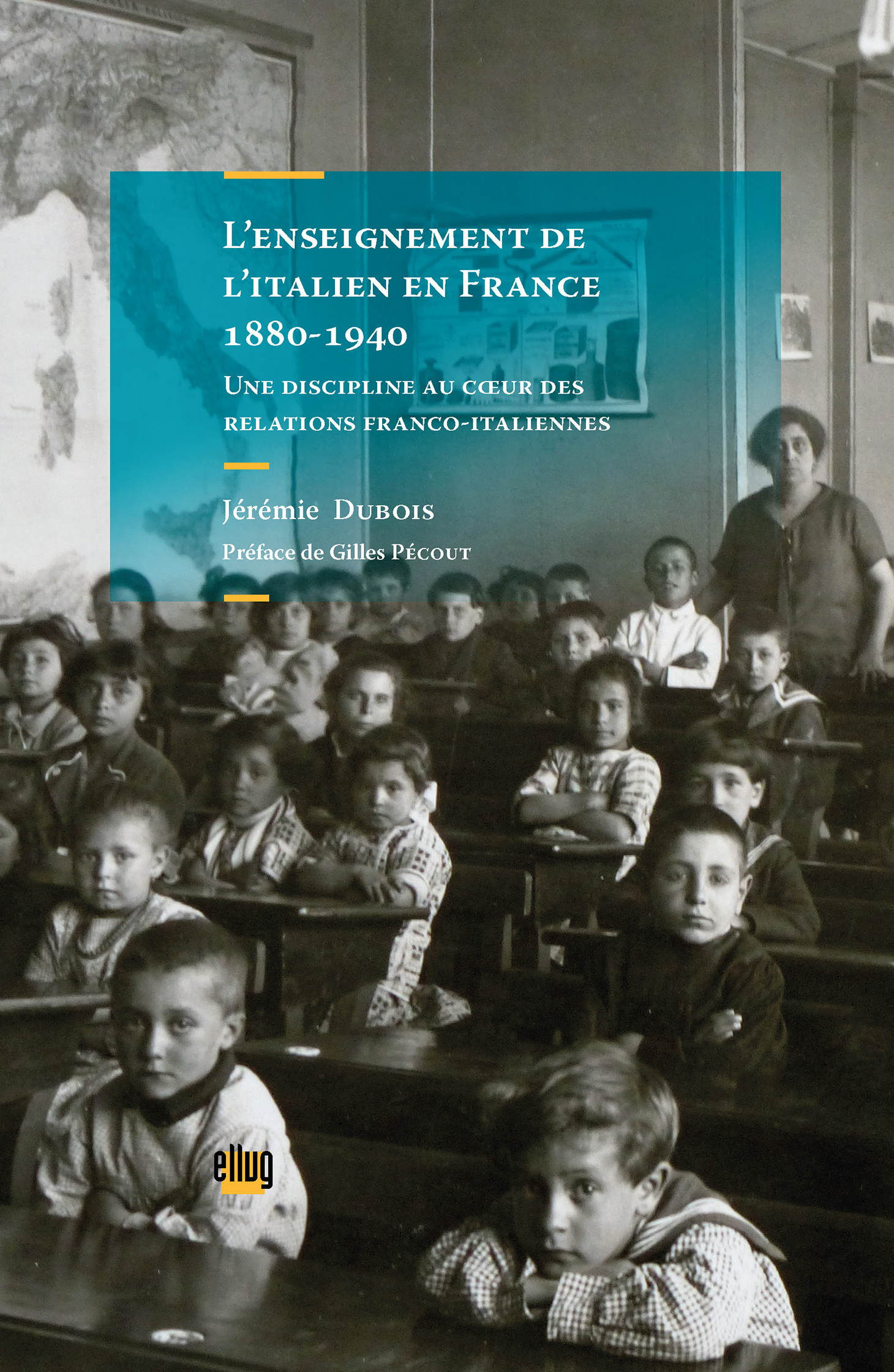 Couverture Enseignement de l'italien en France