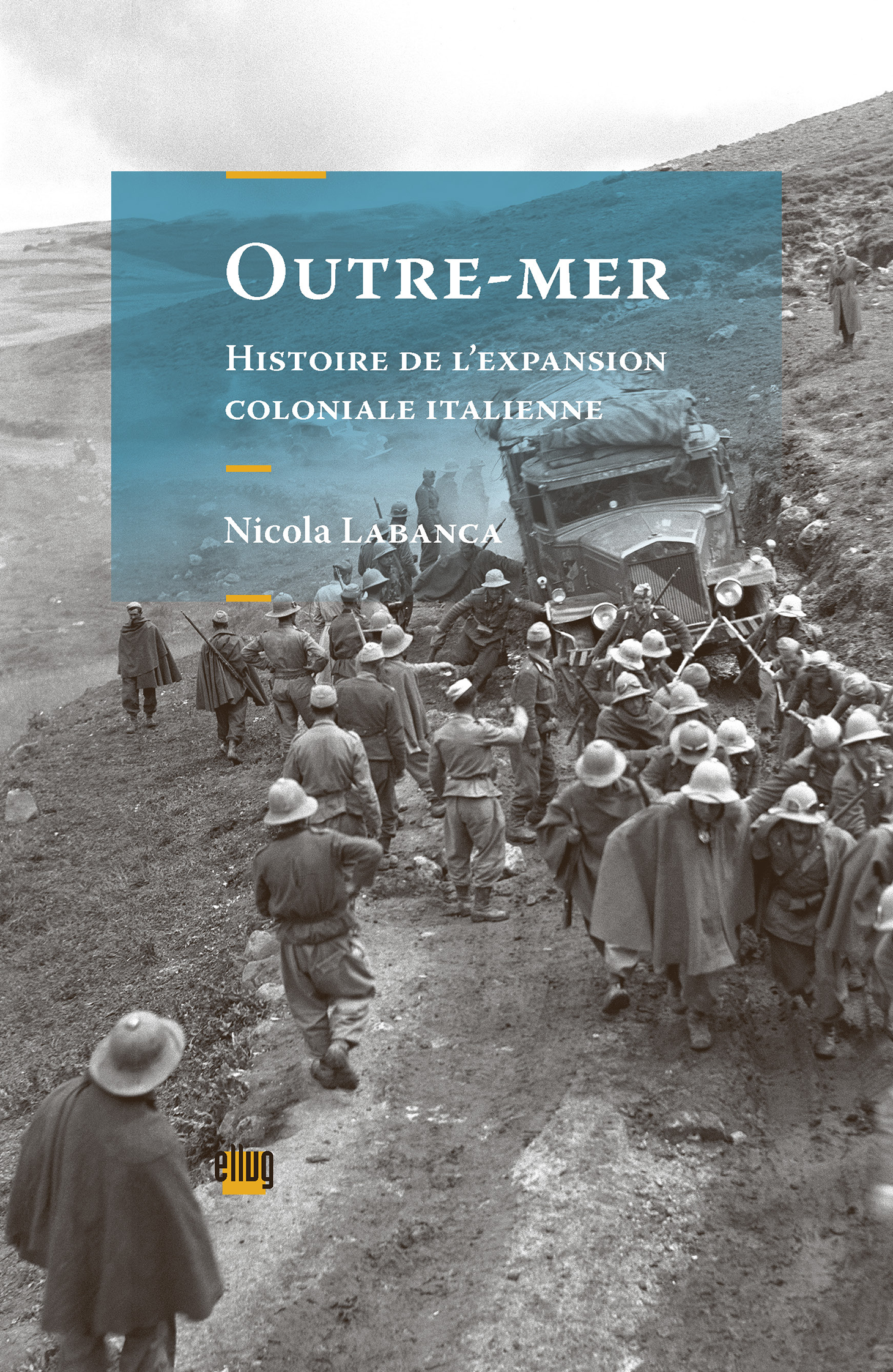 Couverture Outre-mer, colonisation italienne
