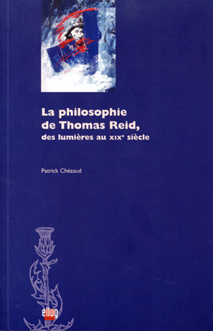 Couverture La philosophie de Thomas Reid