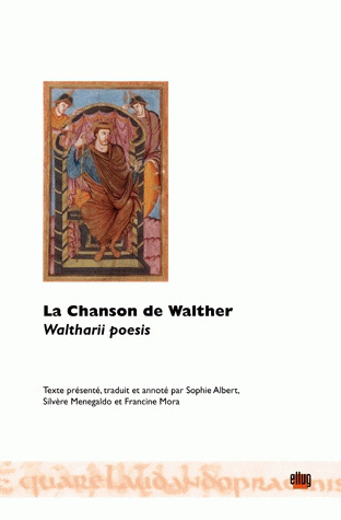 Couverture  La Chanson de Walther. Waltharii poesis