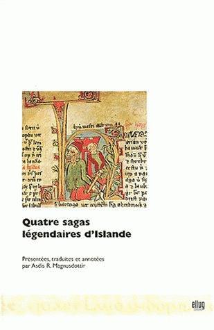 Couverture Quatre sagas légendaires d'Islande