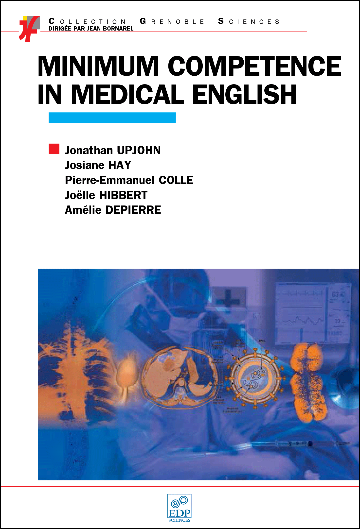 Minimum Competences in medical English couverture