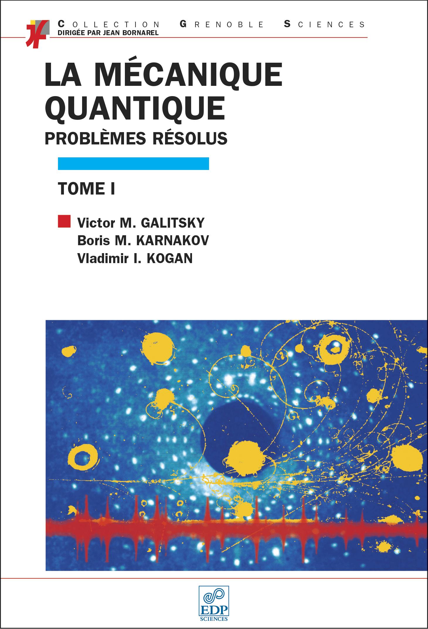 Couverture Mécanique quantique I
