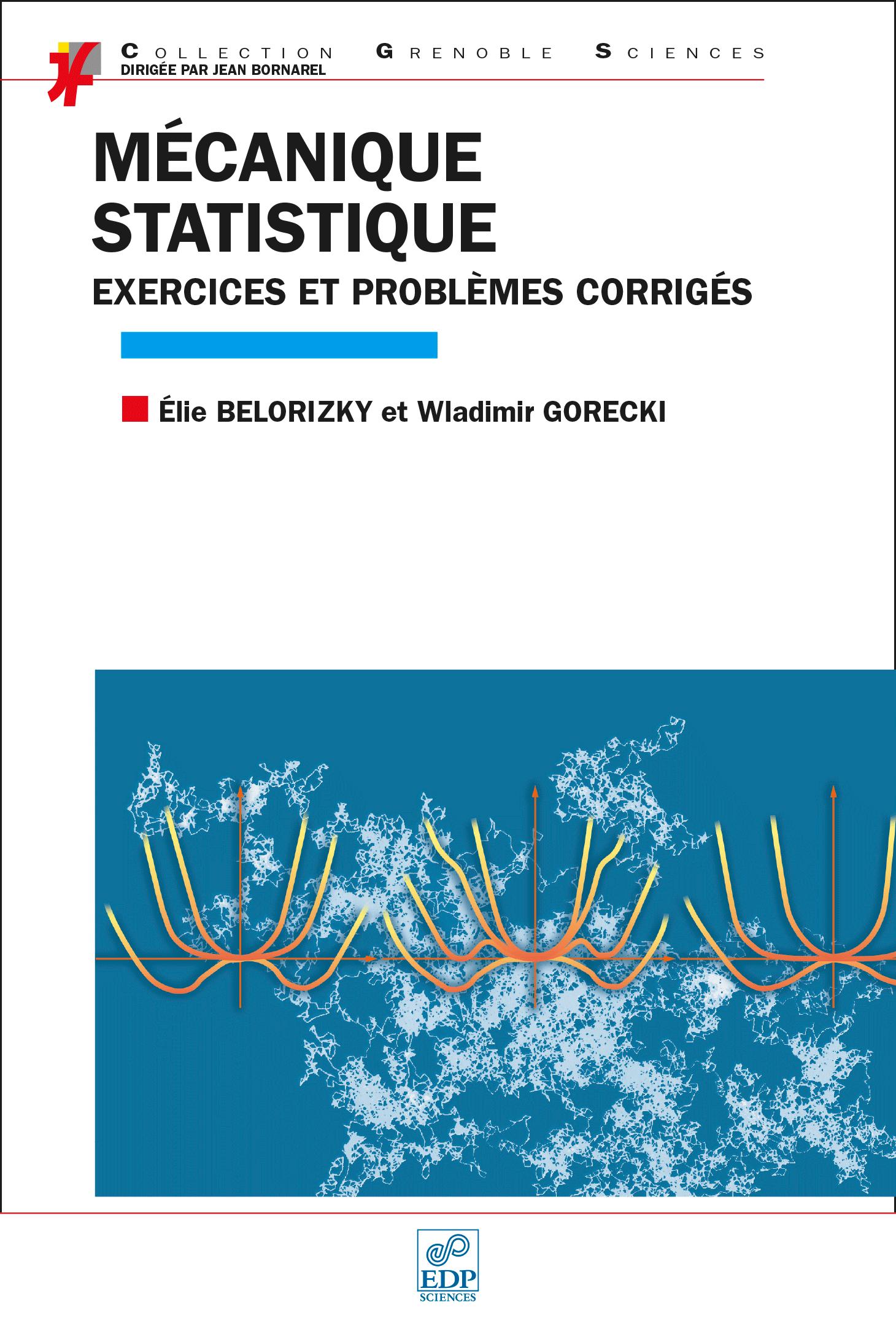 Couverture Mécanique statistique exercices