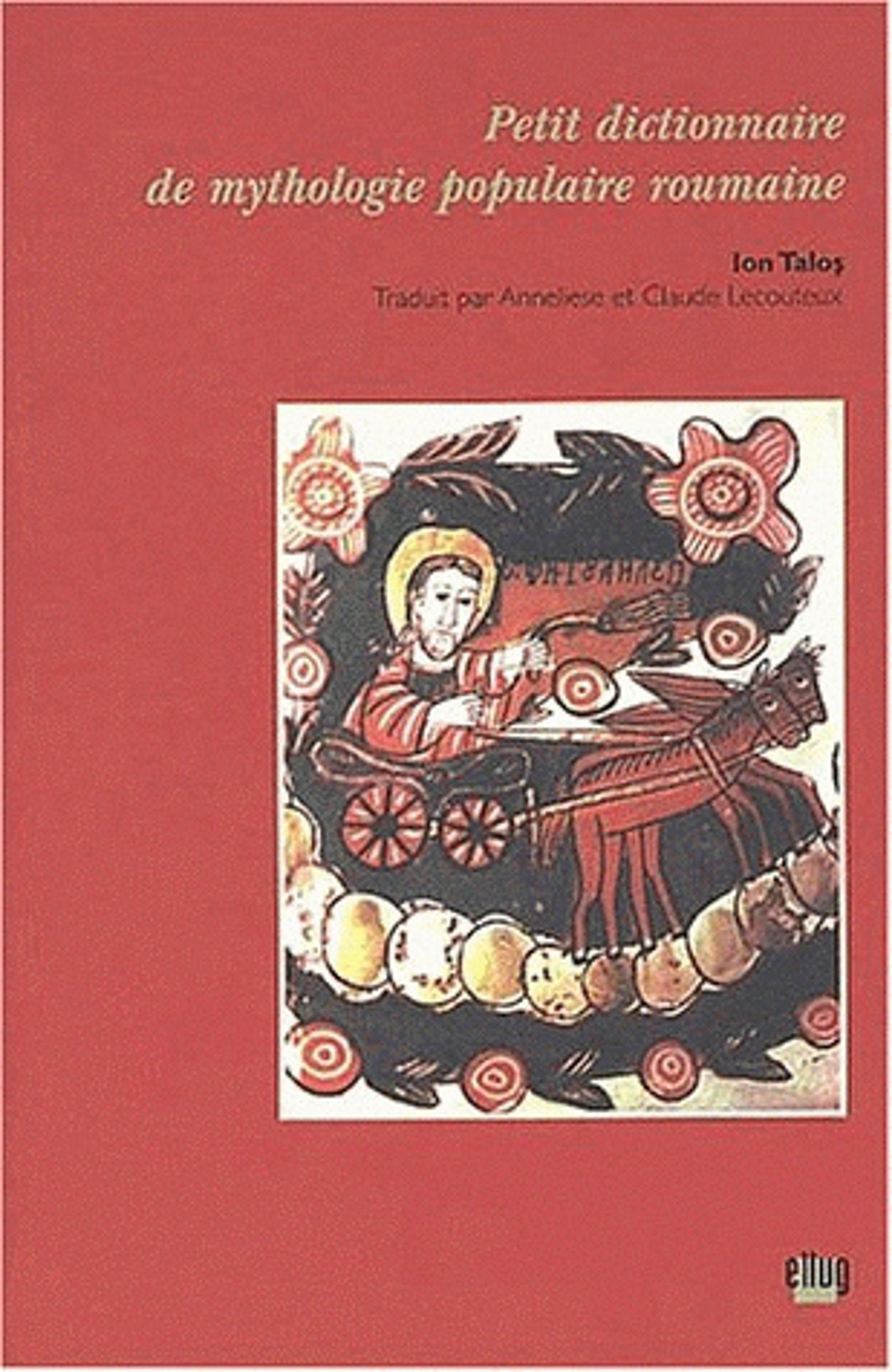 Couverture Mythologie roumaine