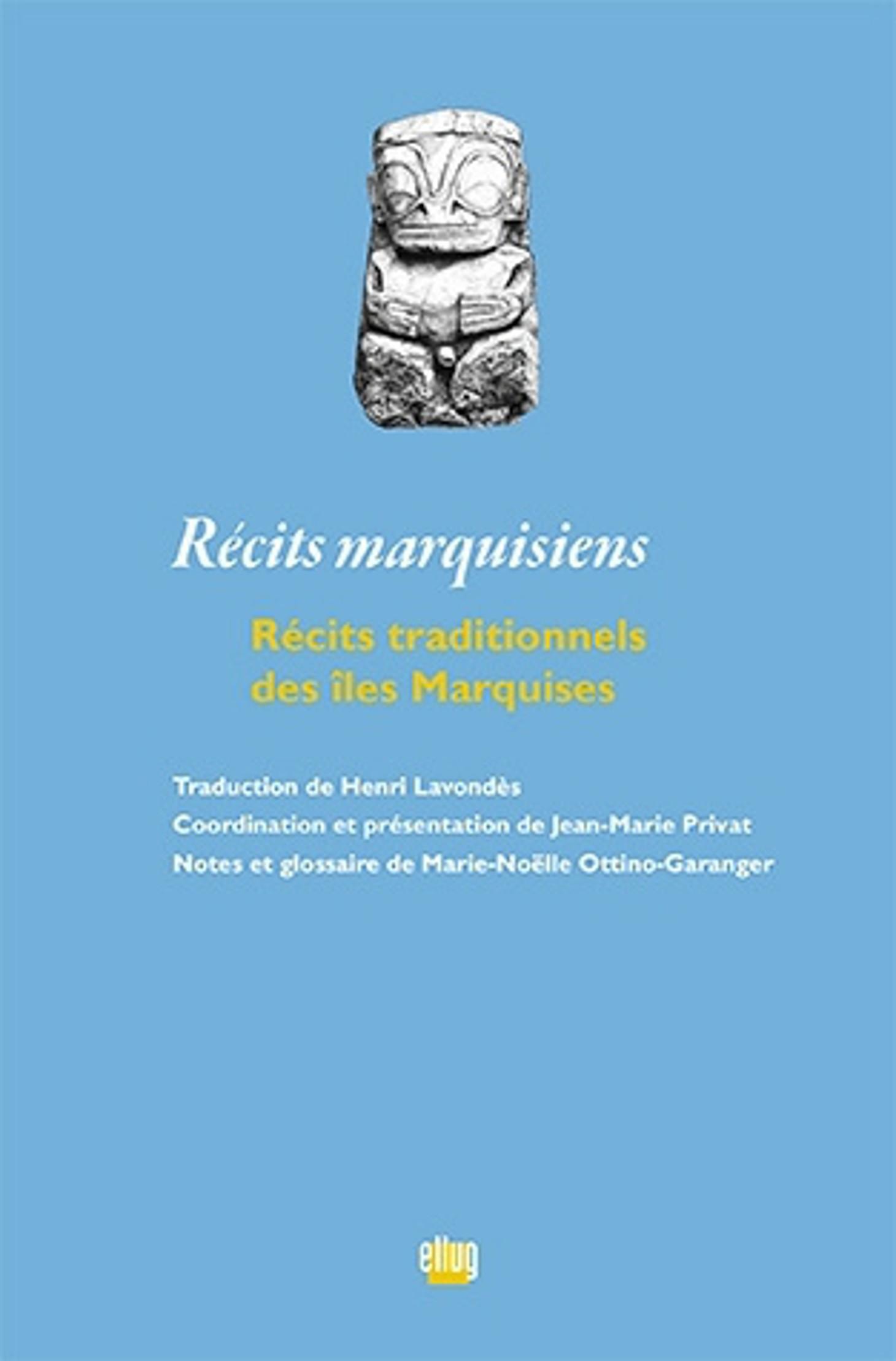 Couverture Récits marquisiens