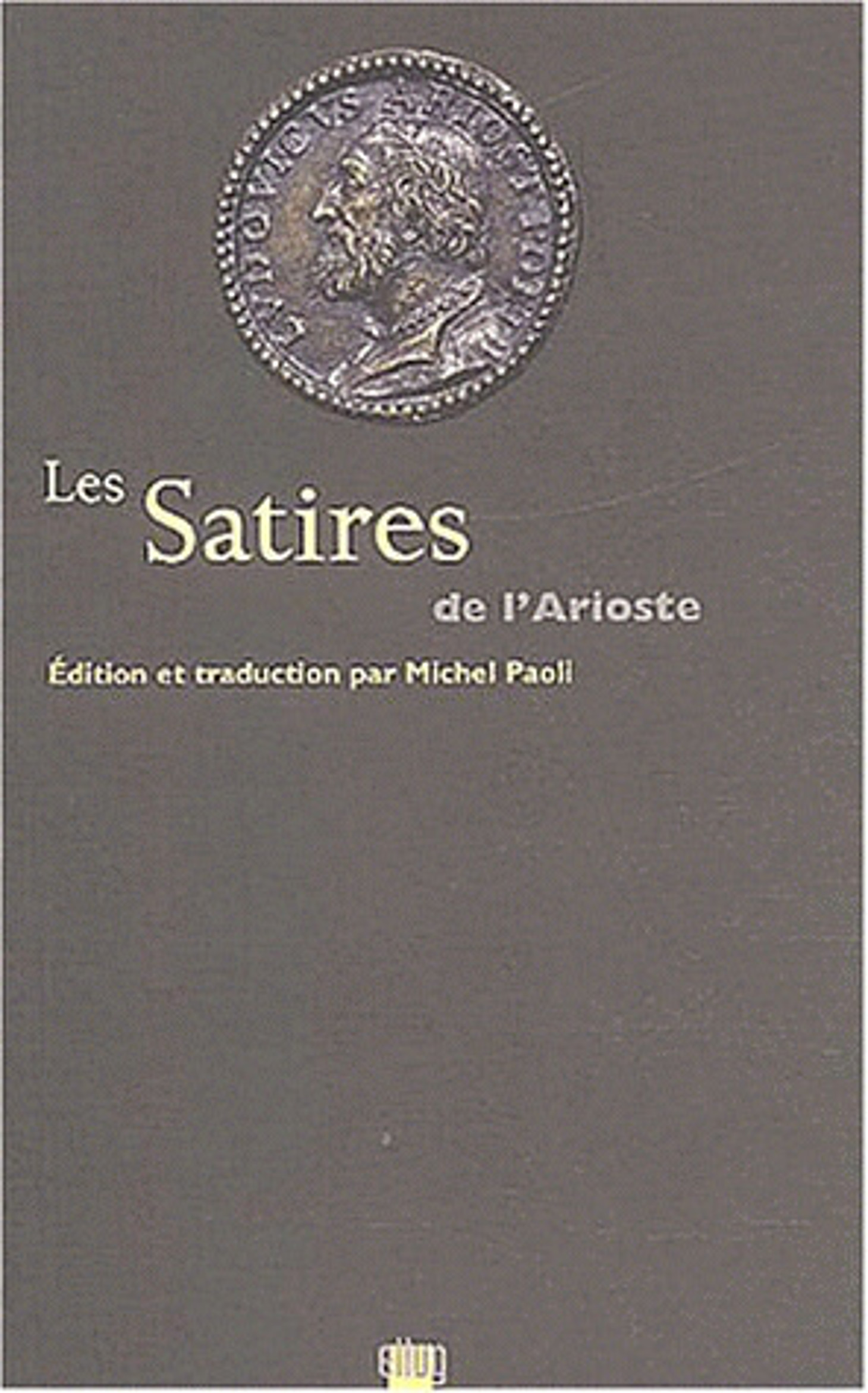 Couverture Les Satires de l'Arioste