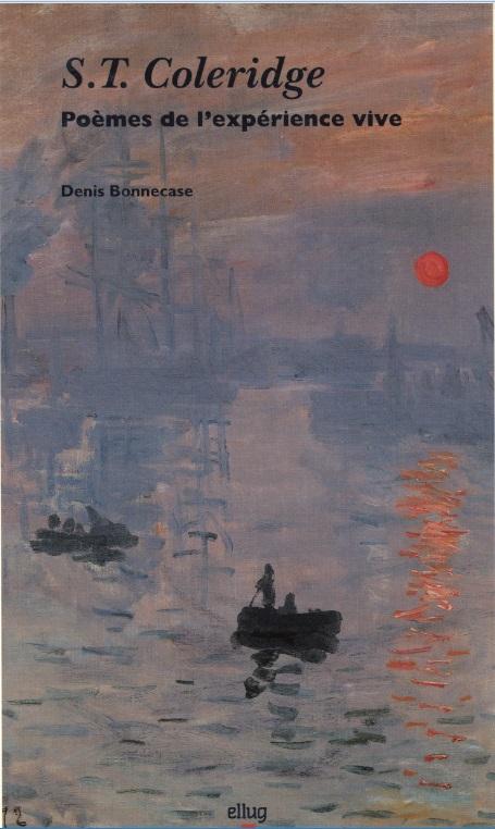 Couverture S.T. Coleridge Poèmes de l'expérience vive