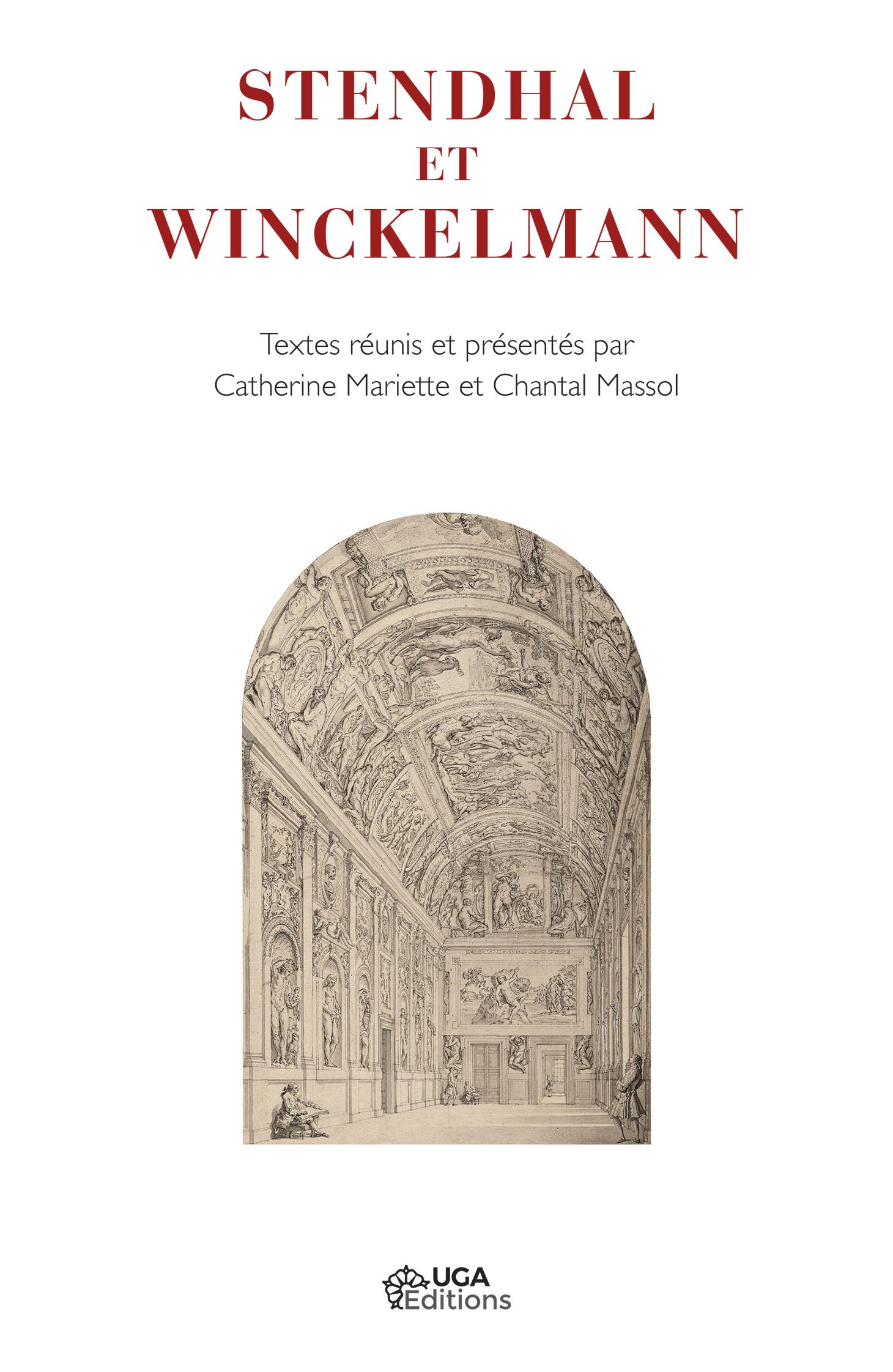 Couverture Stendhal et Winckelmann