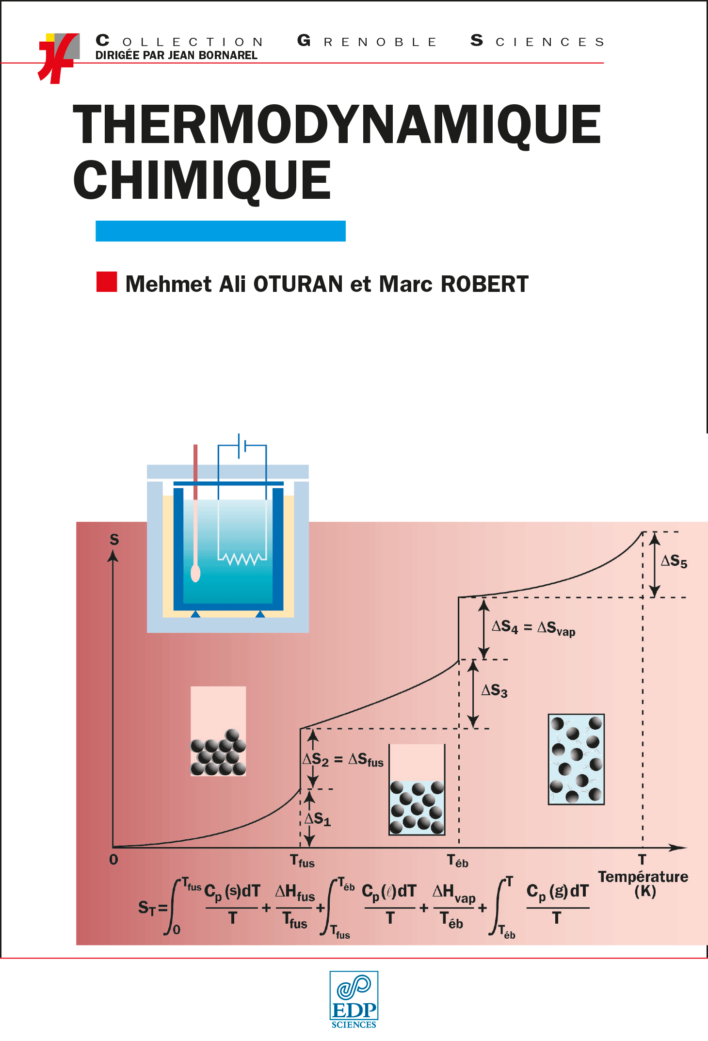 Couverture Thermodynamique Chimique